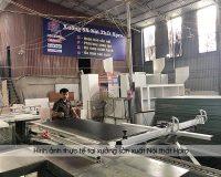 Thi công tủ bếp gỗ tự nhiên giá rẻ và chất lượng tại Nội thất Hpro
