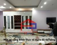 Thiết kế tủ và kệ tivi phòng khách