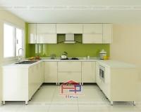 Tủ bếp gỗ Acrylic TBAC148