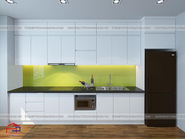 Tủ bếp Laminate TBLM59