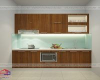 Tủ bếp laminate TBLM66
