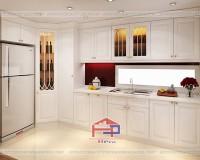 Tủ bếp gỗ sồi Nga TBSN183