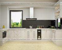 Tủ bếp tân cổ điển TBTCD038