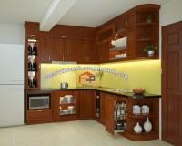 Cập nhập báo giá tủ bếp gỗ xoan đào hà nội- Nội thất Hpro