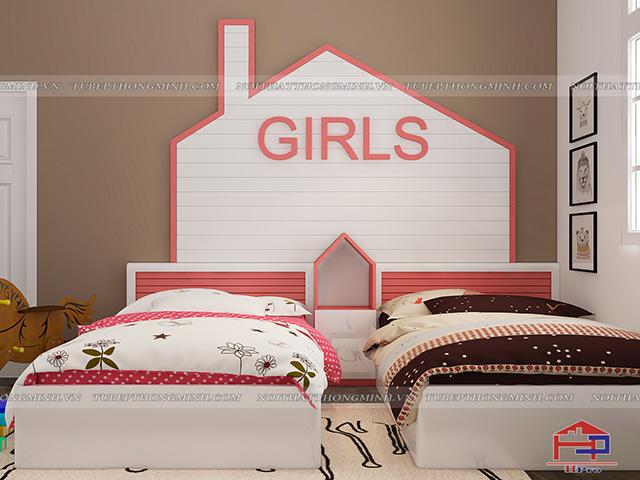Giường ngủ GN66