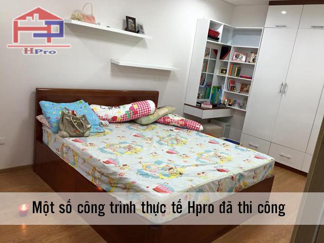 Giường ngủ gỗ veneer xoan đào