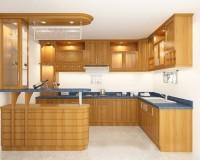 Nên mua tủ bếp đẹp gỗ tự nhiên ở đâu uy tín, chất lượng