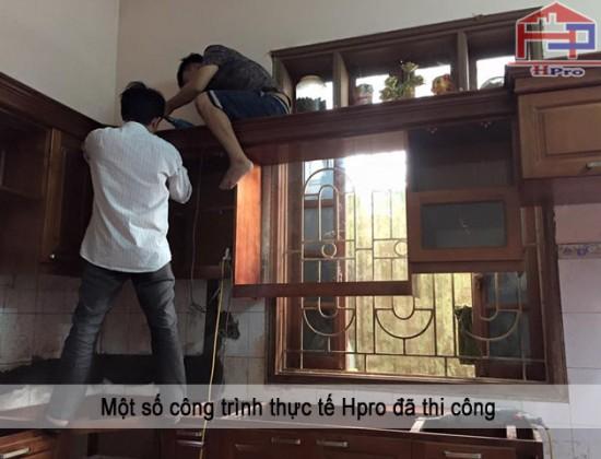 Công trình tủ bếp xoan đào nhà cô Huệ - Thanh XuânCông trình tủ bếp xoan đào nhà cô Huệ - Thanh Xuân