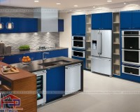 Các chất liệu tủ bếp hiện đại được nhiều khách hàng yêu thích