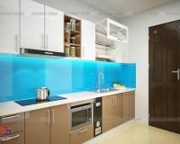 Chọn mẫu tủ bếp thẳng đẹp cho những không gian bếp nhỏ