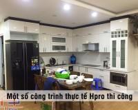 Công trình tủ bếp Acrylic nhà anh Thành P2313 – 27A3 tại GreenStar Phạm Văn Đồng