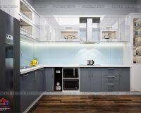 Báo giá tủ bếp chung cư đẹp, chất lượng, giá rẻ nhất Hà Nội