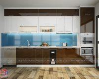 50 mẫu tủ bếp cho nhà chung cư nhỏ tuyệt đẹp, giá rẻ