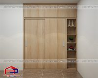 Tủ quần áo Melamine TQA158