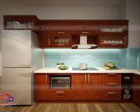 Giá tủ bếp gỗ xoan đào tự nhiên là bao nhiêu? Giá đó bạn được những gì?
