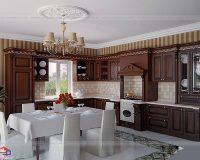 Có nên sử dụng gỗ tự nhiên làm tủ bếp? Loại gỗ nào tốt?