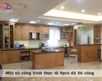 Top 3 hình ảnh tủ bếp gỗ tự nhiên siêu đẹp, siêu tiện nghi Hpro đã thi công