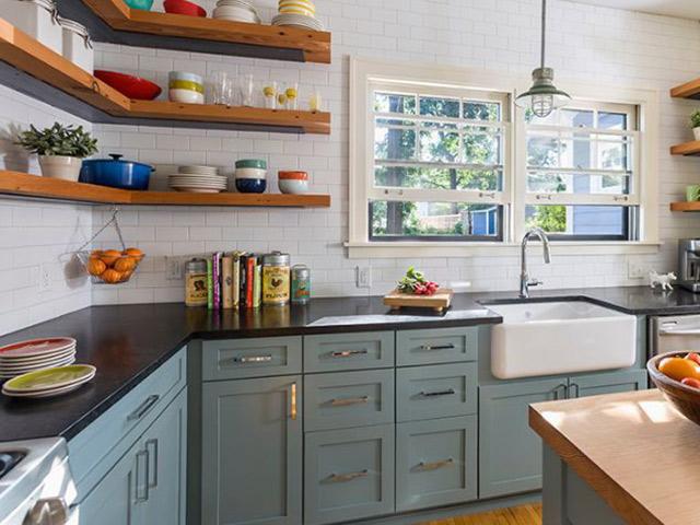 Cách trang trí nhà bếp đơn giản mà đẹp- 10