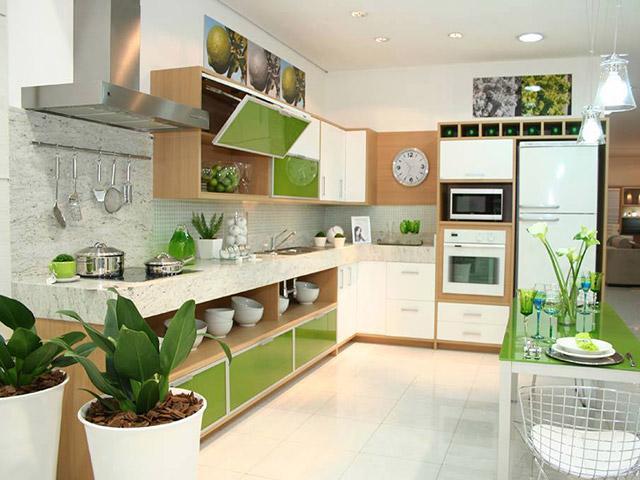 Cách trang trí nhà bếp đơn giản mà đẹp- 3