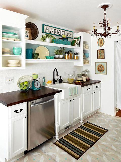 Cách trang trí nhà bếp đơn giản mà đẹp- 4