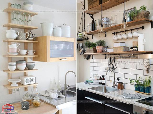 Cách bố trí phòng bếp nhỏ- bỏ đi những đồ dùng không cần thiết trong căn bếp