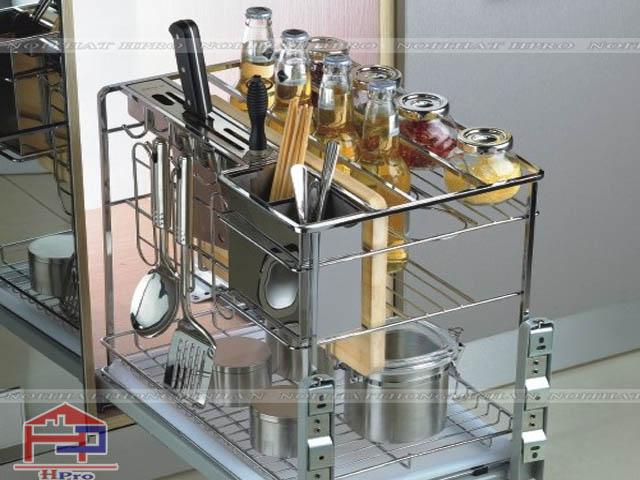 Phụ kiện tủ bếp- giá dao thớt