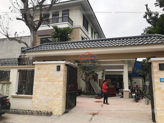 Căn biệt thự nhà anh Việt ở Tp.Thái Nguyên