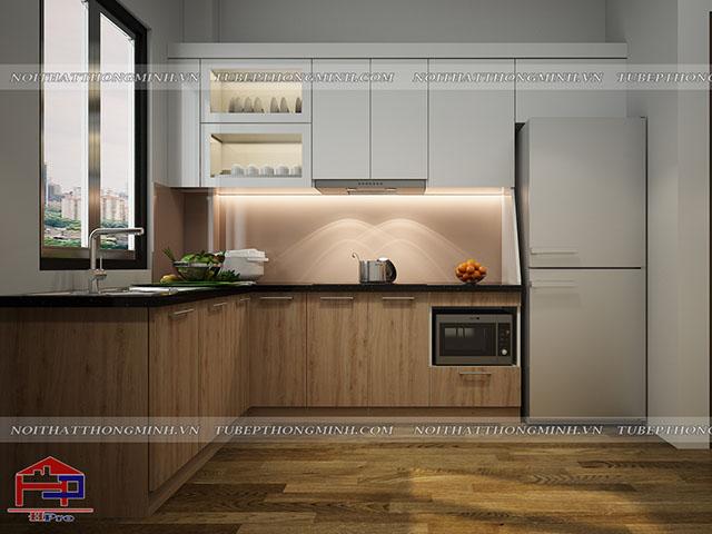 Tủ bếp MFC có bền không