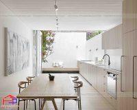 Không gian bếp đẹp cho nhà ống nhìn là muốn sở hữu