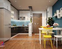 Ý tưởng biến không gian nhà bếp nhỏ trở nên thoáng bất ngờ