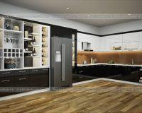 Tủ bếp acrylic TBAC289