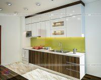 Tủ bếp laminate TBLM89