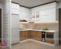 Tủ bếp laminate TBLM90