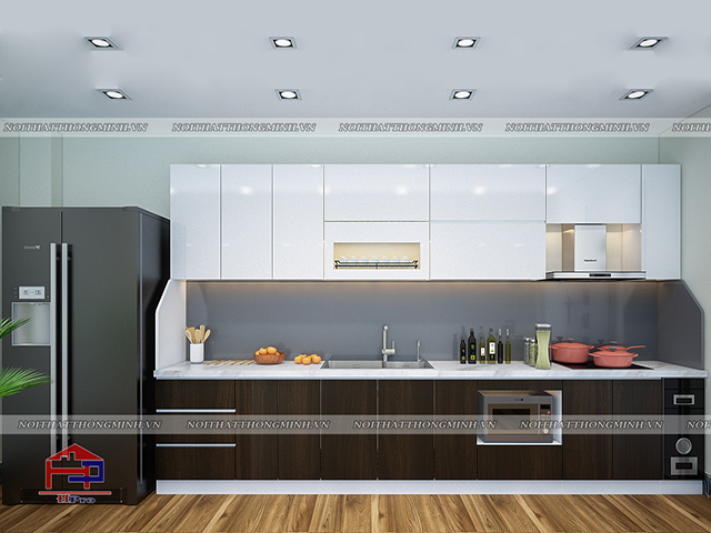 Tủ bếp laminate TBLM94