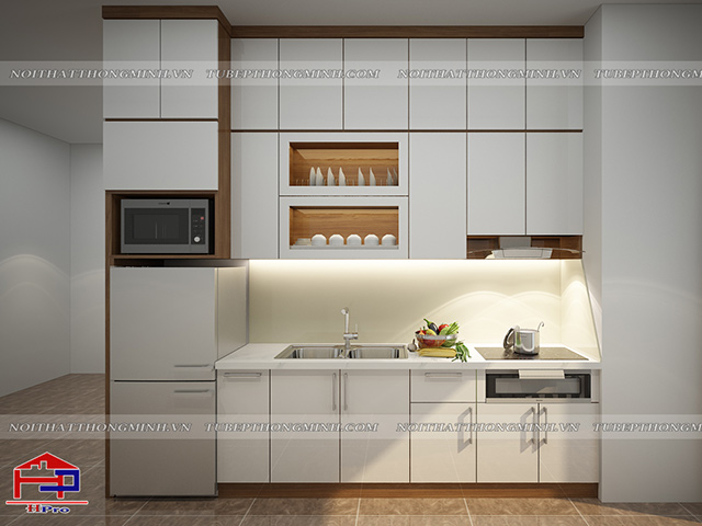 Tủ bếp Laminate TBLM97