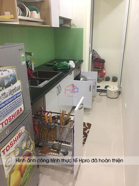 Hpro hoàn thiện lắp đặt tủ bếp kèm trọn bộ phụ kiện - thiết bị bếp