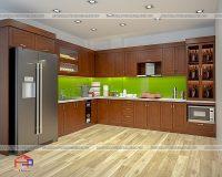 Tủ bếp gỗ Lát TBGL102