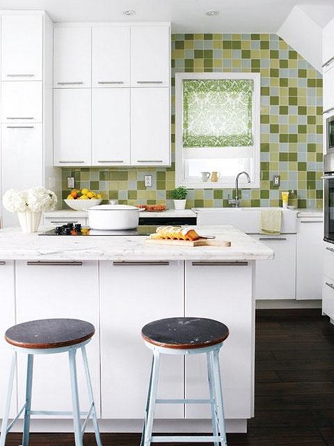 Cách trang trí phòng bếp nhỏ với đồ nội thất đa năng