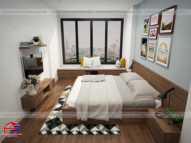 Giường ngủ GN107
