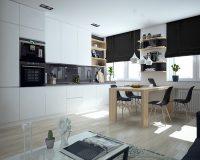 Mẫu nhà bếp nhỏ xinh tiện nghi và đầy sức cuốn hút