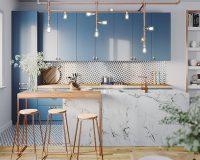 20 mẫu nội thất nhà bếp xinh ngắm hoài không chán