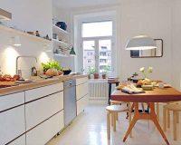 Hô biến phòng bếp đẹp cho nhà nhỏ trở nên rộng thênh thang