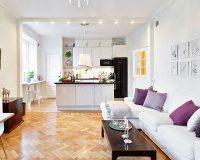 Phòng khách liền bếp đẹp – sự lựa chọn tuyệt vời cho ngôi nhà
