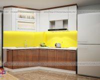 Tủ bếp acrylic TBAC318