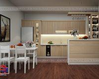 Tủ bếp Laminate TBLM101