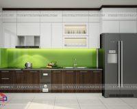 Tủ bếp Laminate TBLM102