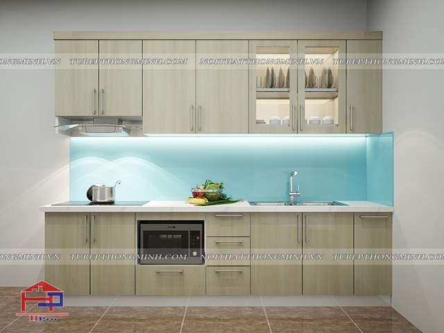 Tủ bếp Laminate TBLM105