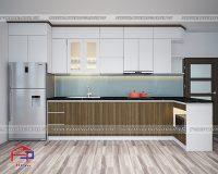 Tủ bếp Laminate TBLM104