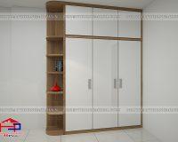 Tủ quần áo Melamine TQA159