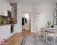 Cải tạo phòng bếp nhỏ cực thông minh mà lại ít tốn kém